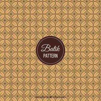 Teste padrão do vintage geométrica batik