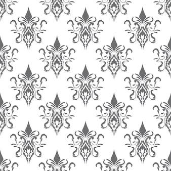 Teste padrão e textura decorativos sem emenda do damasco