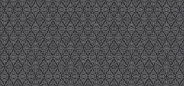 Teste padrão europeu cinzento fundo floral ornamental