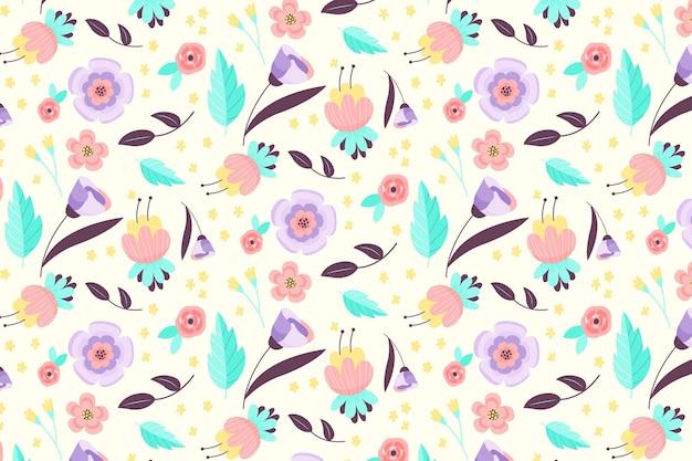 Teste padrão floral bonito