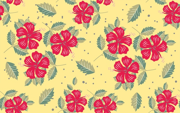 Teste padrão floral flor