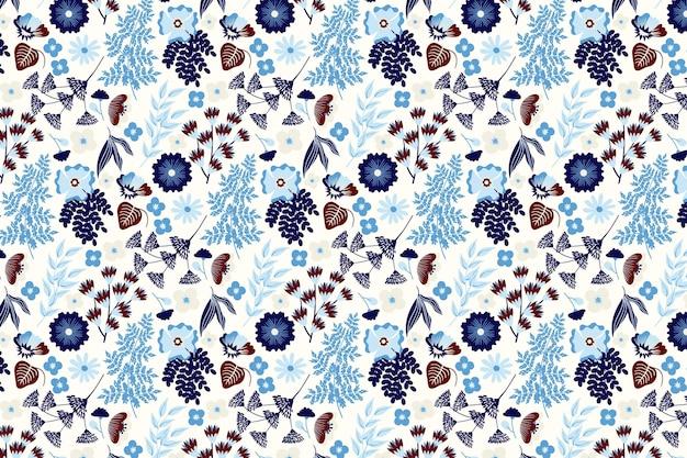 Teste padrão floral fofo criativo