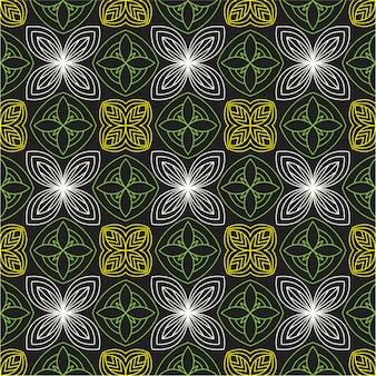 Teste padrão floral semaless abstrato