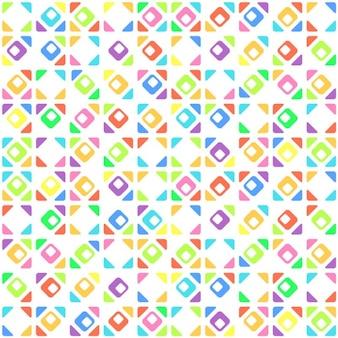 Teste padrão geométrico abstrato sem emenda