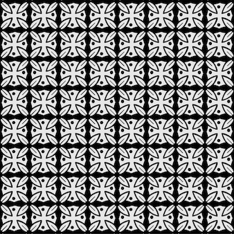 Teste padrão sem emenda abstrato teste padrão de flor estilizado. textura moderna e elegante.