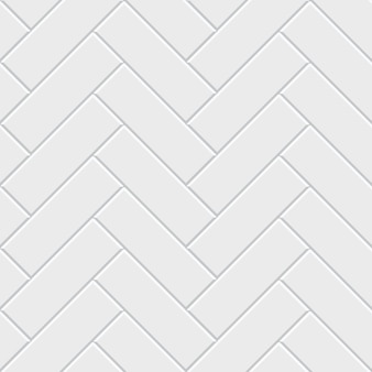 Teste padrão sem emenda do parquet de desenhos em espinha branco. decoração de chão interminável clássica