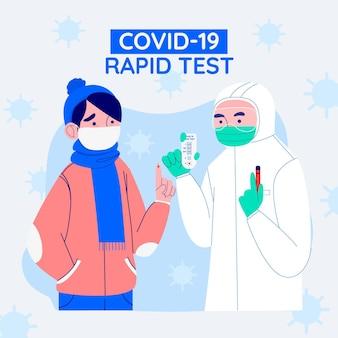 Teste rápido covid-19