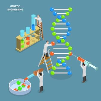 Testes genéticos e engenharia.