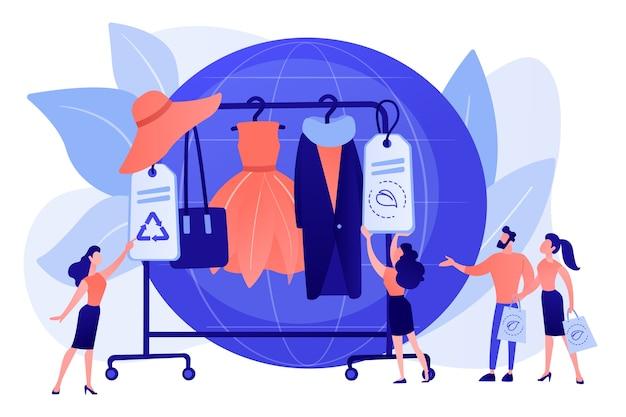 Têxtil reciclável e ecológico