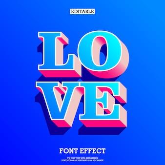 Texto de amor-de-rosa e azul 3d para tema dos namorados