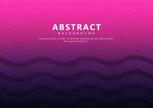 Texto de fundo abstrato geométrico com gradiente de cor