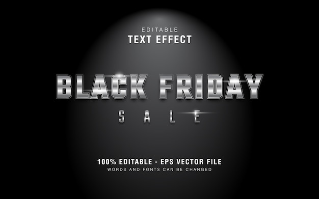 Texto de venda de sexta-feira preta em estilo gráfico