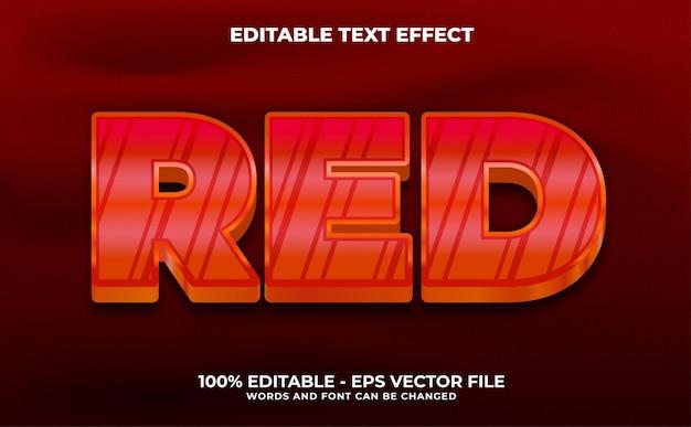 Texto editável de volta às aulas com efeito de vetor premium