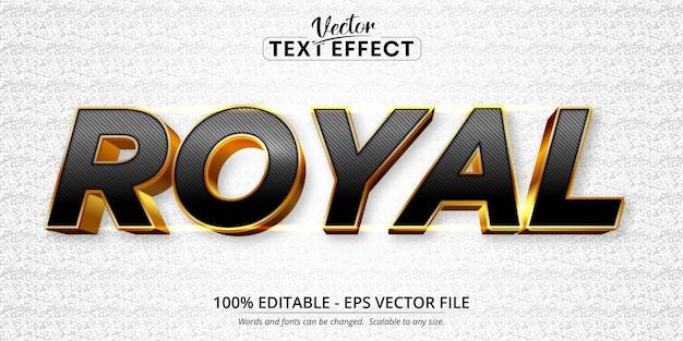 Texto real, efeito de texto editável estilo ouro brilhante