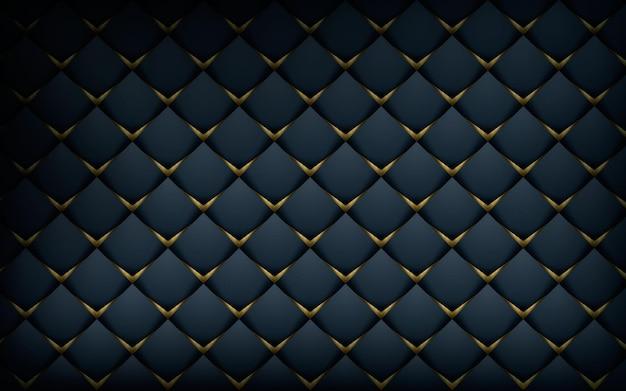 Textura 3d com fundo preto padrão moderno