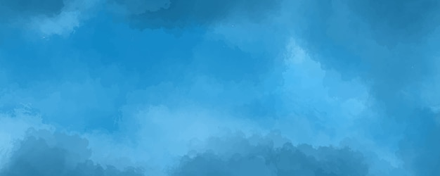 Textura abstrata aquarela azul