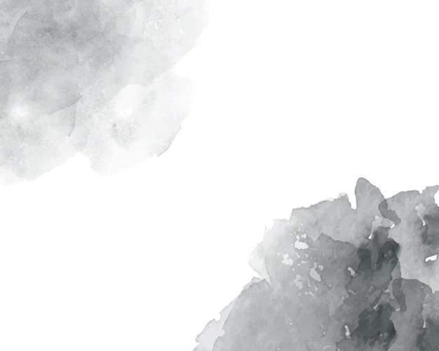 Textura abstrata aquarela macia cinza.