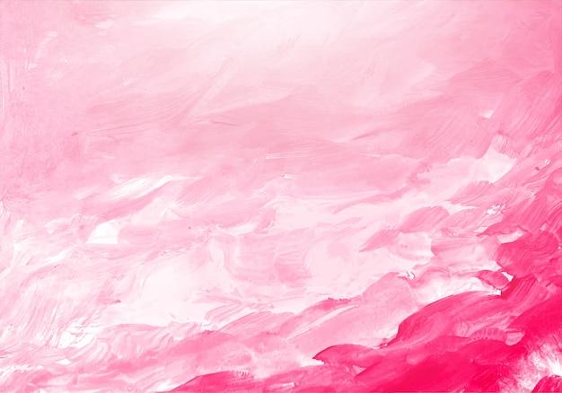 Textura abstrata aquarela rosa suave