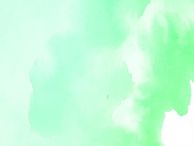Textura abstrata aquarela verde suave