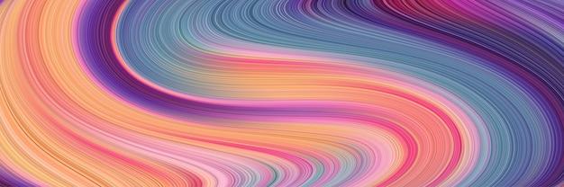 Textura abstrata de fantasia de listras encaracoladas vívidas