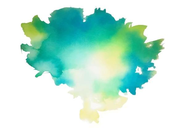 Textura abstrata de respingos de aquarela azul brilhante