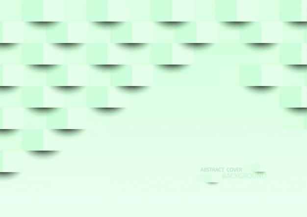 Textura abstrata verde.
