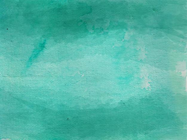Textura aquarela de cores verdes brilhantes no fundo branco