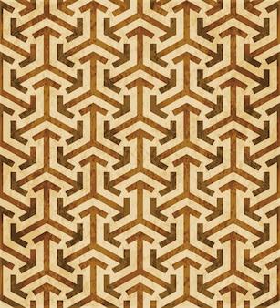 Textura aquarela marrom, padrão sem emenda, geometria cruz triângulo de seta