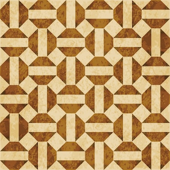 Textura aquarela marrom, padrão sem emenda, geometria cruzada octógono quadrado