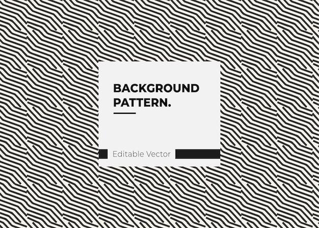 Textura arte padrão retro linha estilo linha preta