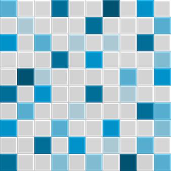 Textura azulejo azul 3d