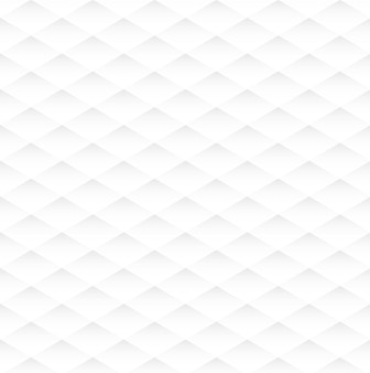 Textura branca sem costura losango abstrato, plano de fundo