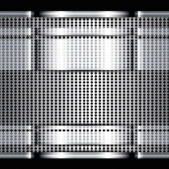 Textura brilhante do metal
