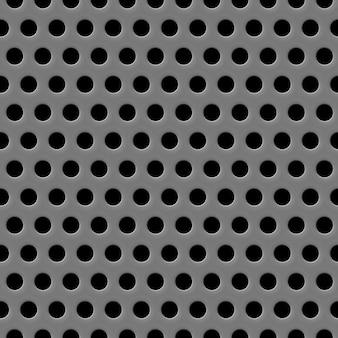 Textura da grade do alto-falante fundo cinza sem costura