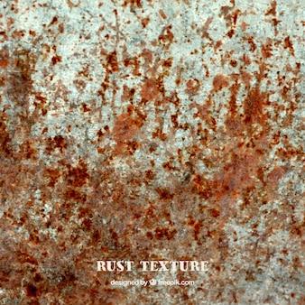 Textura da parede com oxidação