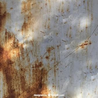 Textura da parede oxidada