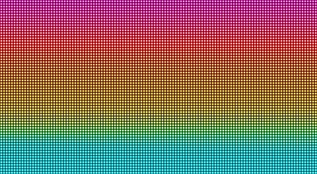 Textura da tela conduzida. fundo digital de pixel. monitor lcd com pontos. efeito de diodo eletrônico. ilustração