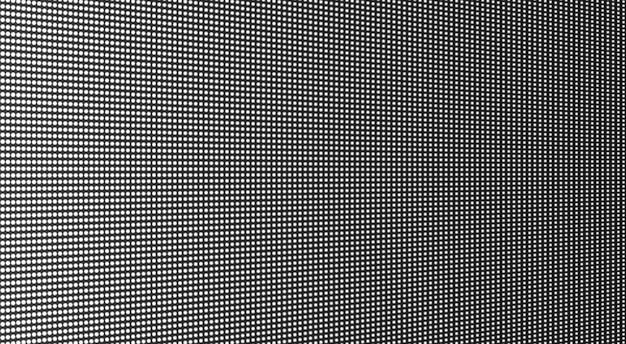 Textura da tela conduzida. monitor digital lcd. ilustração vetorial.