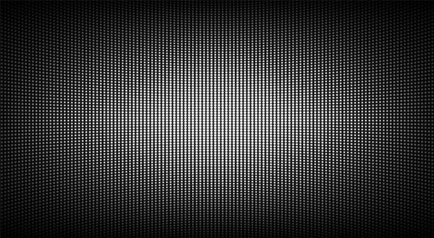 Textura da tela conduzida. visor lcd com pontos. plano de fundo pixelizado da tv. monitor digital analógico