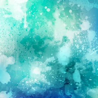 Textura de aquarela detalhada