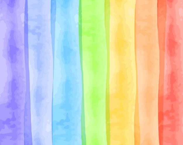 Textura de aquarela para tons de arco-íris