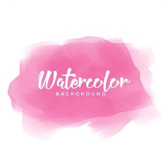 Textura de aquarela rosa desenhada de mão