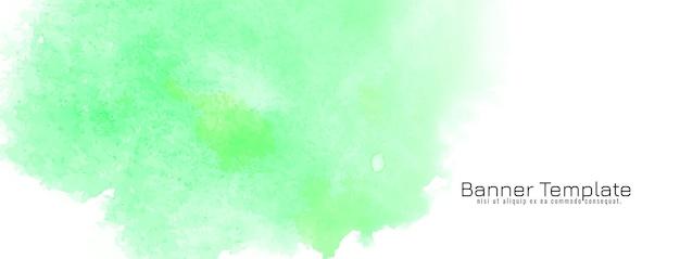 Textura de aquarela verde suave