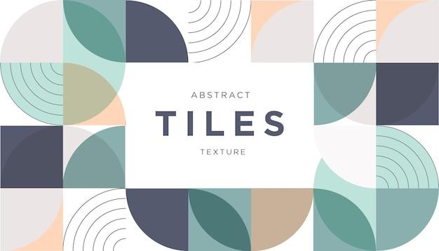 Textura de azulejos abstratos