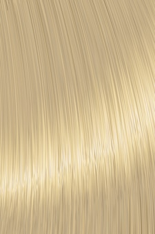Textura de bloqueio de cabelo liso loiro realista