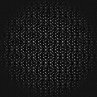 Textura de carbono metal industrial sem costura