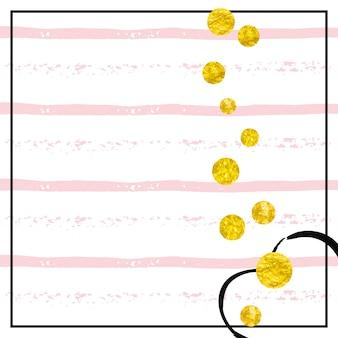 Textura de folha de ouro. flyer na moda dourado. 14 de fevereiro pintura. convite feminino. partículas de natal. rose premium starburst. conceito de berçário de listras. textura de folha de ouro rosa
