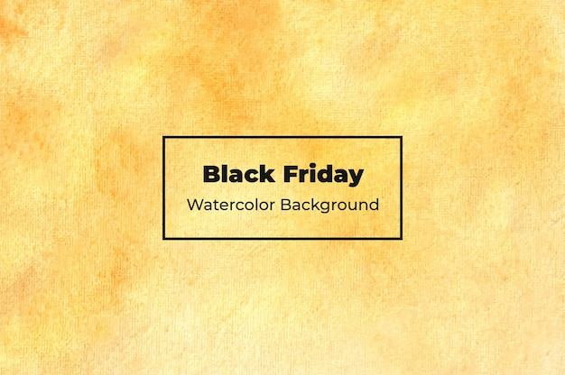 Textura de fundo abstrato black friday watercolor