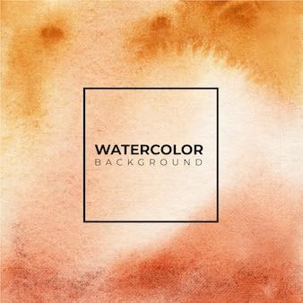 Textura de fundo aquarela suave e marrom escuro salpicos de cor no papel.