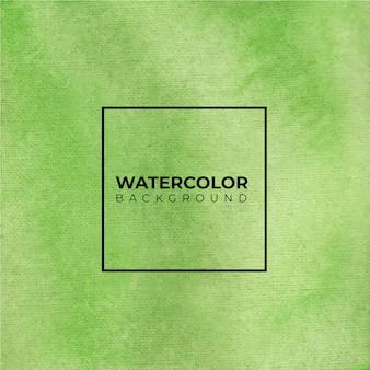 Textura de fundo aquarela verde suave. cor espirrando no papel.